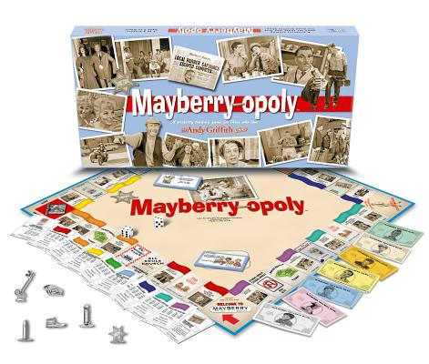 Mayberry-Opoly The Andy Griffith Show Monopoly Board Game by Late for the Sky Production Company