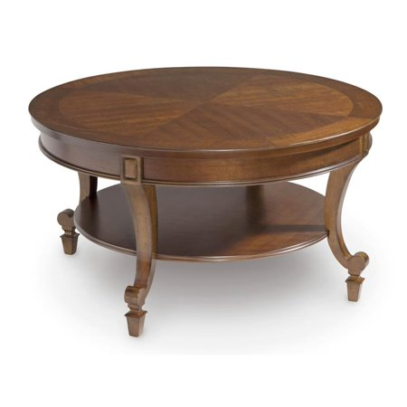 Magnussen Aidan Wood Round Cocktail Table Walmart Com