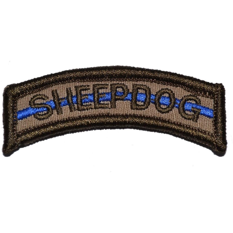 Sheepdog Thin Blue Line Tab Patch