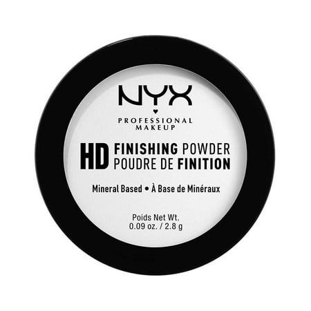 (2 Pack) NYX Professional Makeup High Definition Finishing Powder Mini, Translucent (Setting Powder For Halloween Makeup)