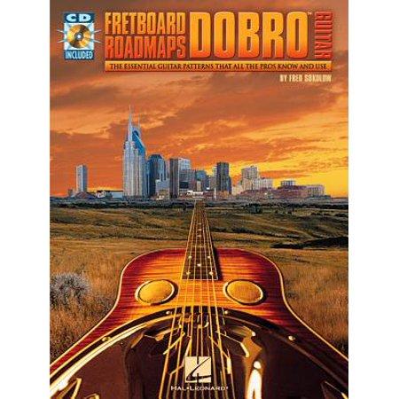 Fretboard Roadmaps-Dobro Guitar