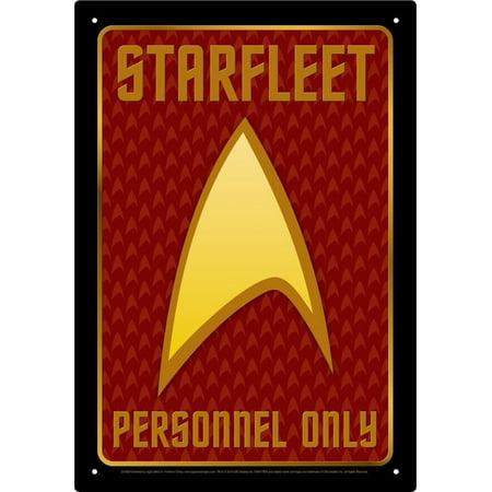 - Star Trek Personnel Tin Sign