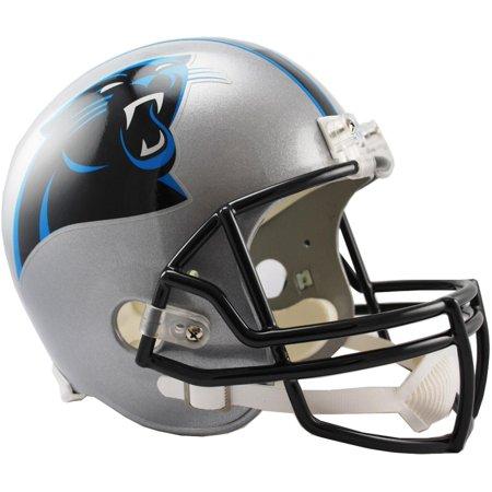 - Riddell Carolina Panthers VSR4 Full-Size Replica Football Helmet