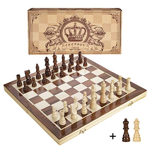 Magnetic Travel Chess Set Foldable and Portable Game Board for Kids Adults Children 3 in 1 Chess Board Set