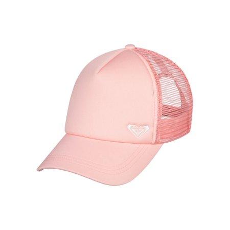 Womens Trucker Hat (Roxy Womens Finishline Snapback Trucker Hat - Peach)