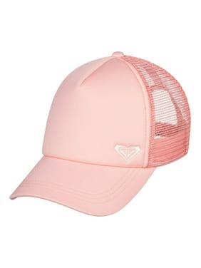 Roxy Womens Finishline Snapback Trucker Hat - Peach Bud/White