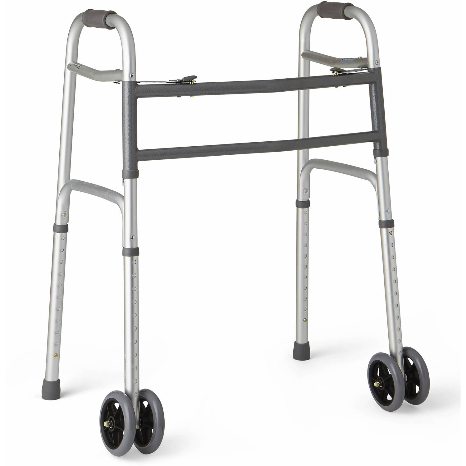 Medline Extra Wide Two Button Walker