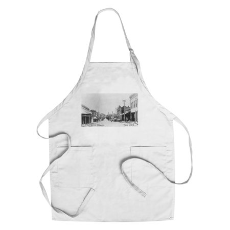 Jacksonville, Oregon - California Street Scene (Cotton/Polyester Chef's Apron)