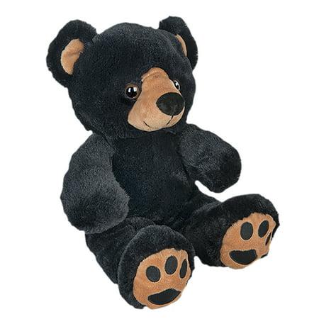 Cuddly Soft 16 inch Stuffed Black Bear - We stuff 'em...you love 'em! (Black Poodle Stuffed Animal)