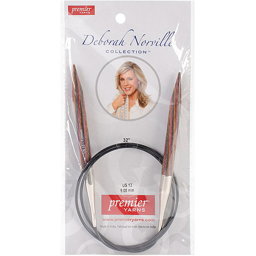 "Deborah Norville Fixed Circular Knitting Needles 32""-Size 13/9mm"