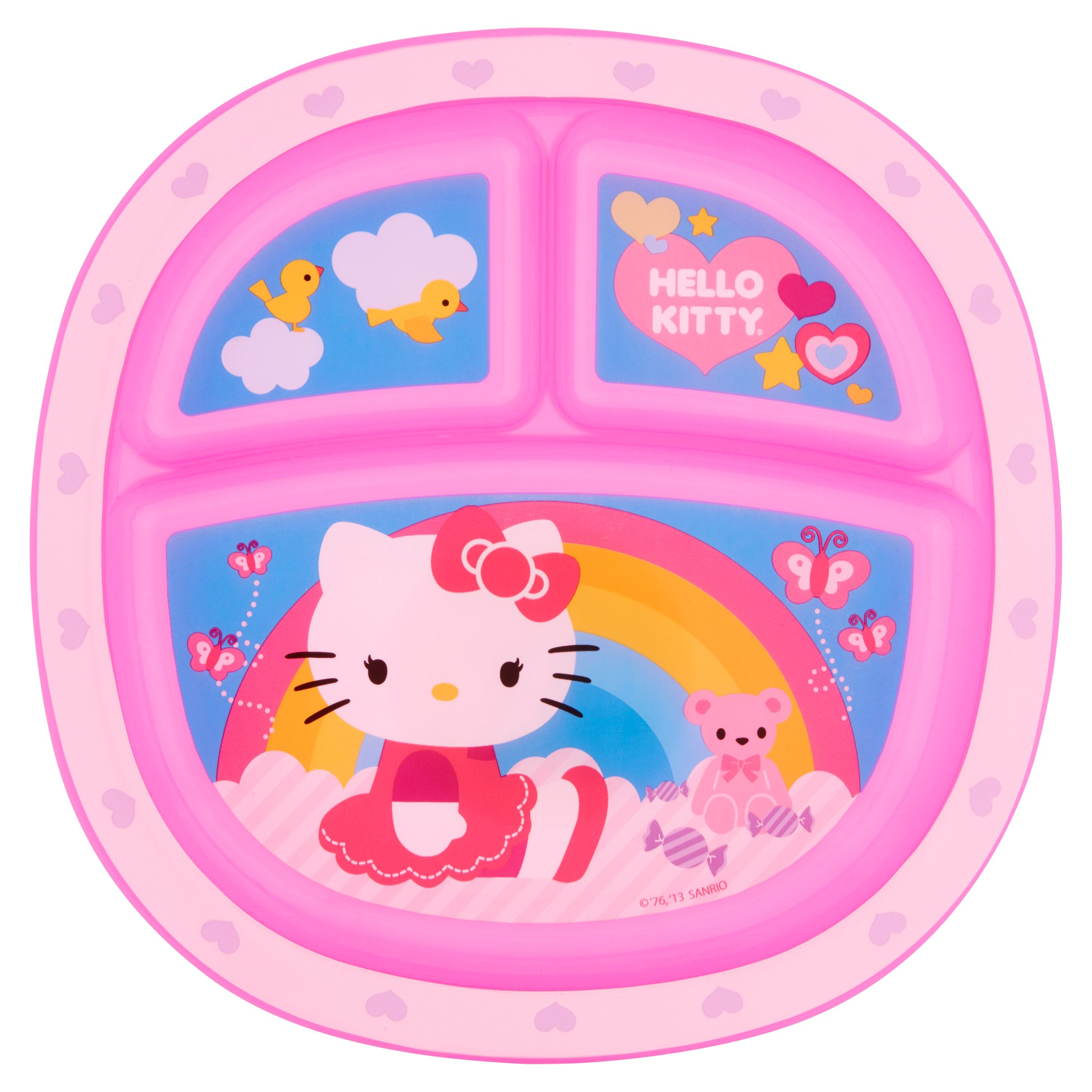 Hello Kitty Toddler Plate