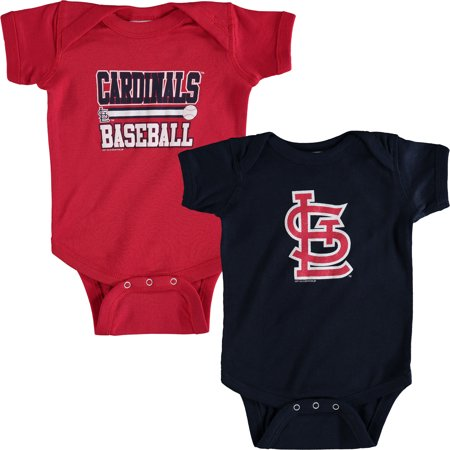 St. Louis Cardinals Soft as a Grape Newborn & Infant 2-Piece Body Suit -