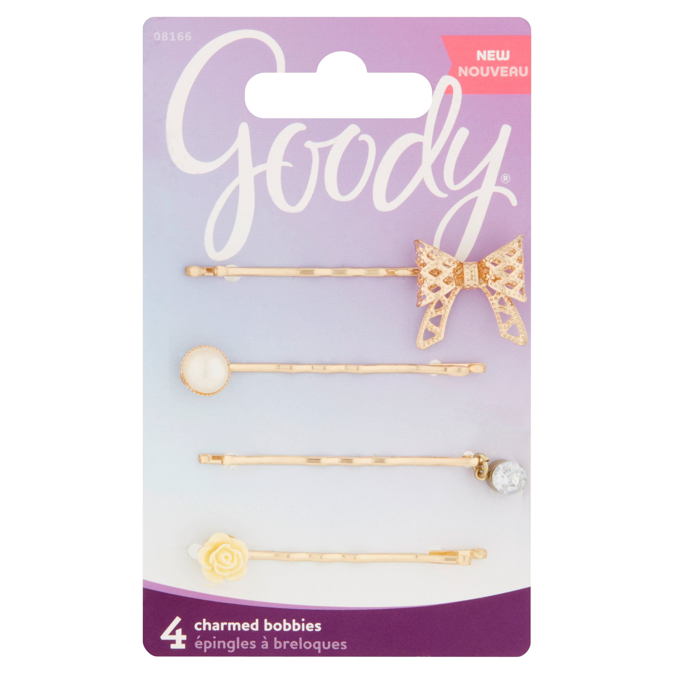 (2 Pack) Goody Charmed Bobbies, 4 count