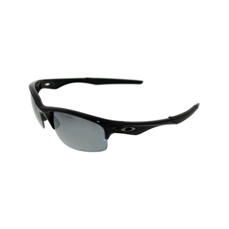 d682c5b5432 Oakley Bottle Rocket Polarized Oval Polished Black Frame Black Iridium  Polarized Lens Men s Sunglasses