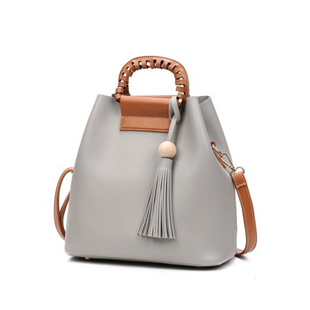 Hot Fashion Women Purses and Handbags PU Leather Large Bucket Bag Shoulder Messenger Bag