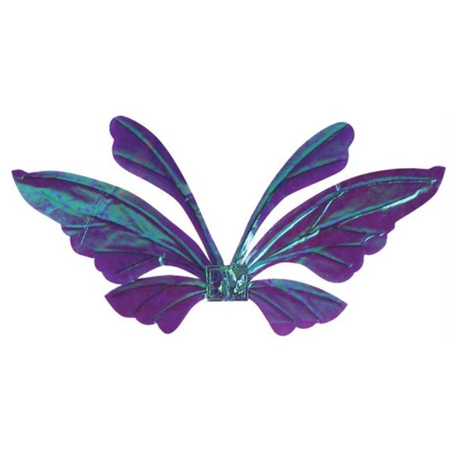 Costumes For All Occasions FW90560PR Wings Tail Opal Purple