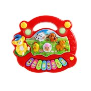 Iuhan Musical Instrument Toy Baby Kids Animal Farm Piano Developmental Music Toys