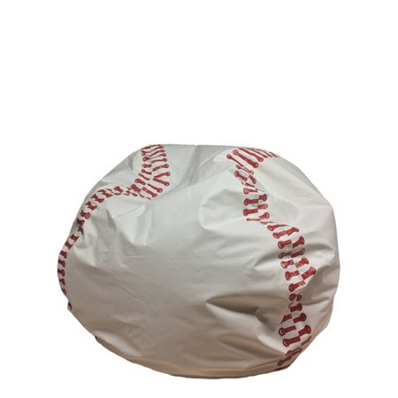 Terrific Bf Manufacturing Baseball Bean Bag Chair Walmart Com Alphanode Cool Chair Designs And Ideas Alphanodeonline