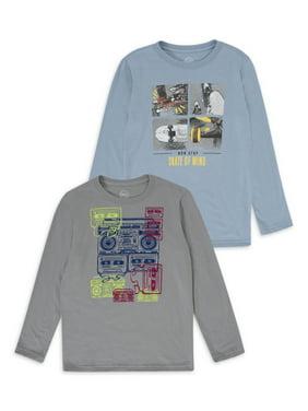 Yellow Tiger Sequins NEW Wonder Nation Boys Long Sleeve Shirt Small 6-7
