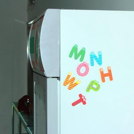 Fridge Wooden Magnet Baby Children Toy A-Z ABC Educational Alphabet 26 Letter - image 7 of 11