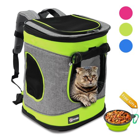 04f94cbbb6 Pawsse Pet Carrier Backpack for Dogs and Cats up to 15 LBS Comfort Dog Cat  Carrier