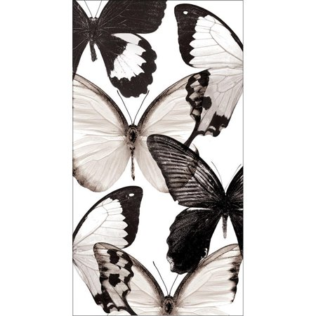 Creative Converting Entomount Butterfly Guest Towel, 3 Ply, 16 ct (90 Degree Towel)