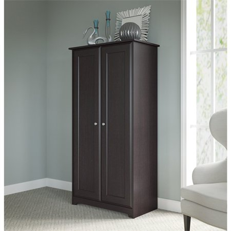 Bush Furniture Cabot Tall Storage Cabinet with Doors in Espresso Oak - image 1 of 7
