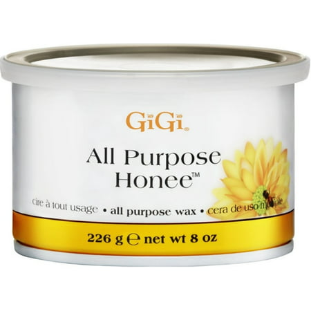 Gigi Microwave Sensitive Tweezeless Wax - GiGi All Purpose Honee Wax 8 oz