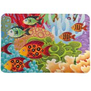 Laural Home Fish in the Hood Mat