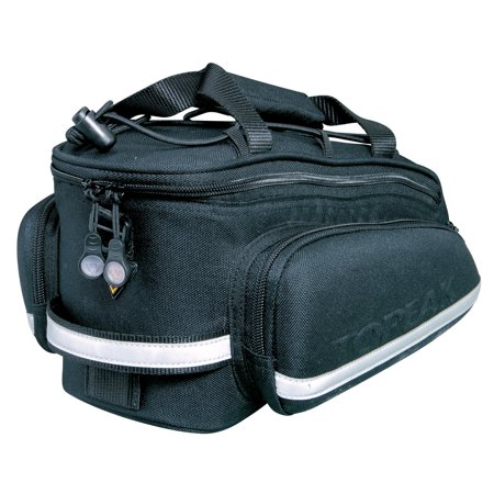 - Topeak RX TrunkBag DXP High Capacity Rear Rack Bike Bag With Pannier Bags, Strap