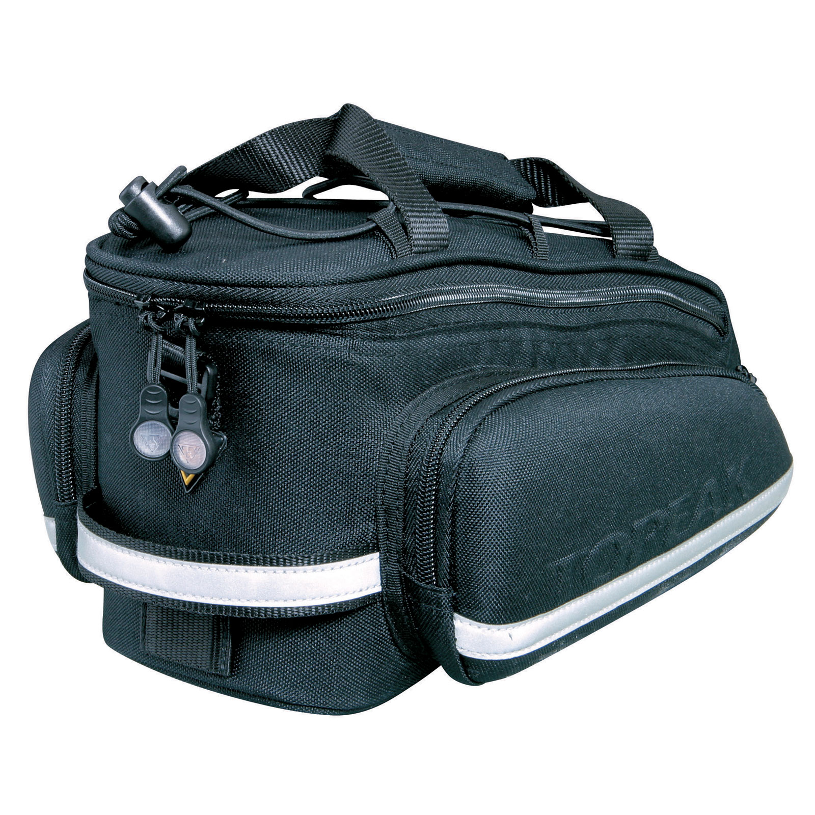 Topeak RX TrunkBag DXP High Capacity Rear Rack Bike Bag With Pannier Bags, Strap
