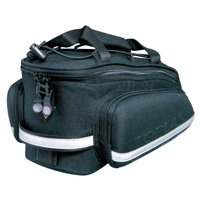 Topeak RX TrunkBag DXP High Capacity Rear Rack Bike Bag With Pannier Bags, Strap