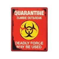 Quarantine Sign Halloween Party Decoration
