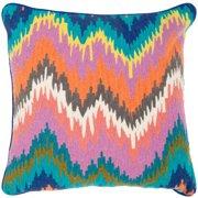 Safavieh Dripping Stiches Neon Cotton Throw Pillow (Set of 2)