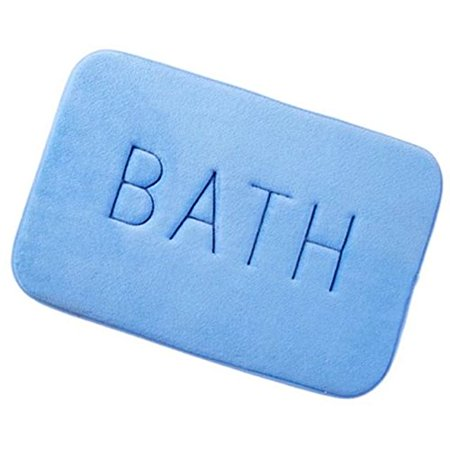 Home Cal Bathroom Mat Environmental and Non Fading Non-Toxic Mat Indoor/Outdoor