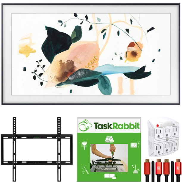 Taskrabbit Christmas Party 2020 Samsung QN55LS03TA The Frame 3.0 55 inch QLED Smart 4K UHD TV