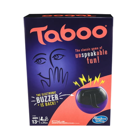 Taboo Game Rules (Taboo Game, Game for Ages 13 and)