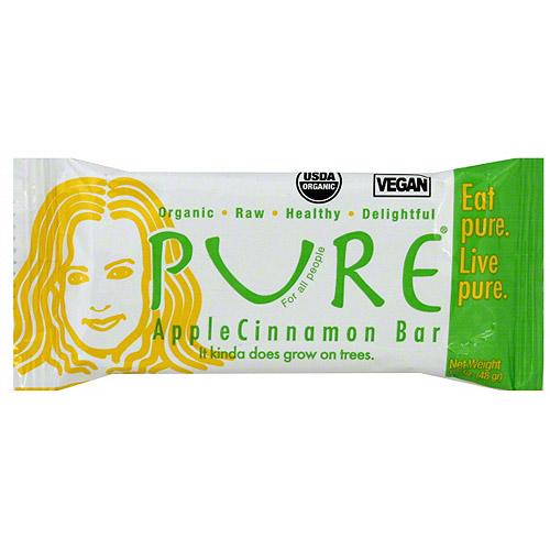 Pure Organic Apple Cinnamon Snack Bars, 1.7 oz (Pack of 12)