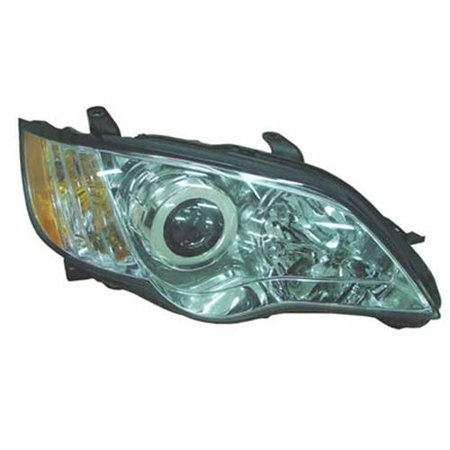 SU2503130 NSF Right Headlamp Assembly Composite for 08-09 Subaru Legacy
