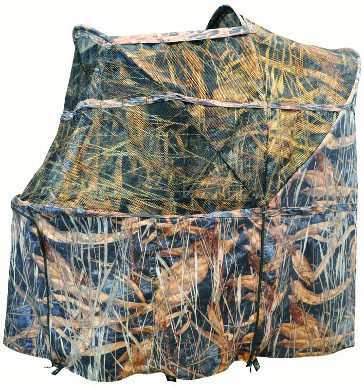 "ACTION EXECUTOR Camouflage Type Hunting Chair Blind Grass Ghost ® Camo Grass Ghost 57"" #032173"