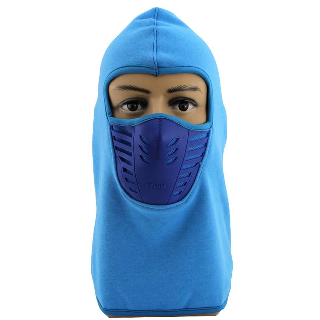 Balaclava Face Mask | Wind Resistant and Dust proof Winter Ski Mask Hoodie Style Blue by