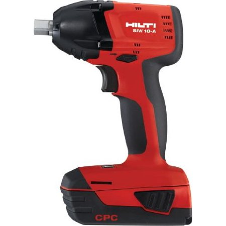 Hilti 3487037 Compact Impact Wrench Siw 18 A 3 8 Cordless Systems 1 Pc
