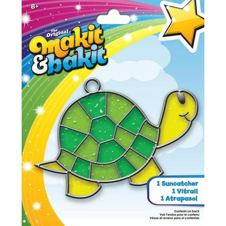Makit & Bakit Suncatcher Kit Turtle