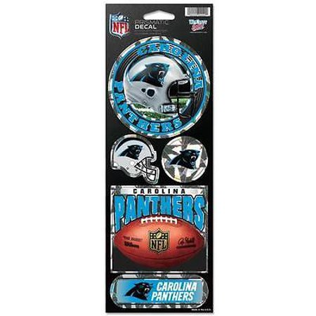 Carolina Panthers Prismatic Stickers