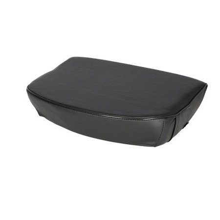 Seat Cushion, Vinyl, Black, New, Massey Ferguson, 181326M1, 532489M91 ()