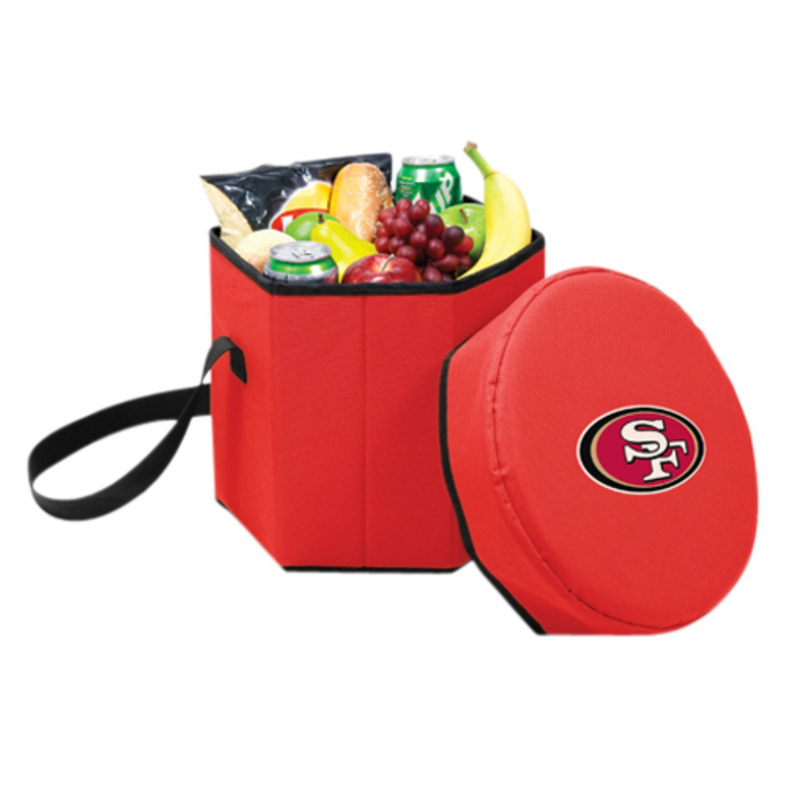 Picnic Time Bongo Cooler, Red San Francisco 49ers Digital Print