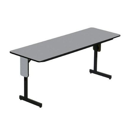 Correll Inc 96 Rectangular Folding Table Walmart Com