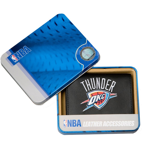 NBA - Men's Oklahoma City Thunder Embroidered Trifold Wallet