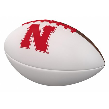 Steve Young Autographed Football - Nebraska Cornhuskers Official-Size Autograph Football