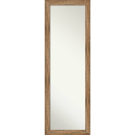 Amanti Art On The Door Full Length Wall Mirror, Owl Brown Narrow: Outer Size 17 x 51-inch - 51.38 x 17.38 x 0.795 inches deep ()